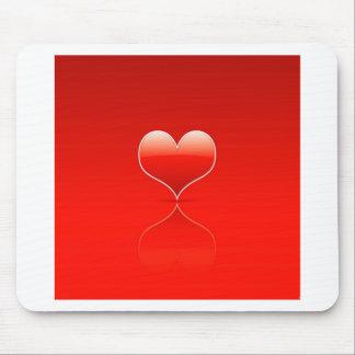 Abstrakte coole Liebe reißen auseinander Mousepads