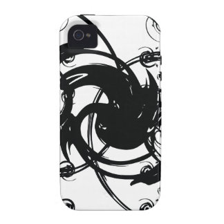 Abstrakte Drehung iPhone 4/4S Cover