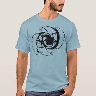 Abstrakte Drehung T-Shirt