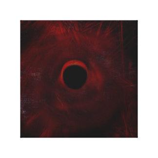Abstrakte Eklipse Leinwanddruck