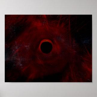 Abstrakte Eklipse Poster