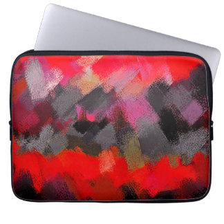 Abstrakte Farbkunst #2 Laptop Sleeve