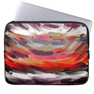 Abstrakte Farbkunst #3 Laptopschutzhülle