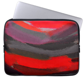 Abstrakte Farbkunst Laptopschutzhülle