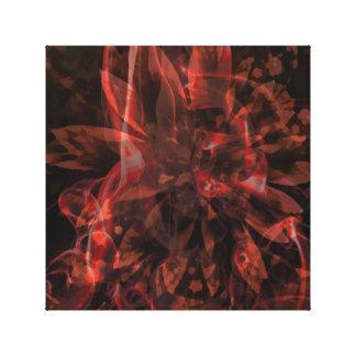 Abstrakte Fraktale Leinwanddruck