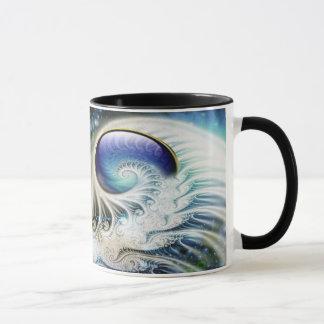 Abstrakte Fraktalphantasie Tasse