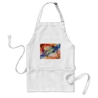 Abstrakte Galaxie Marbleized Kunst Schürze