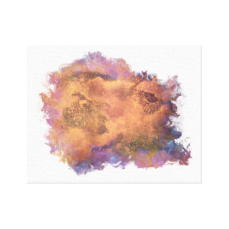 Abstrakte Galaxie-Sammlung Gespannter Galeriedruck