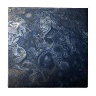 Abstrakte Jupiter-Blues-Raum-Keramik-Fliese Fliese