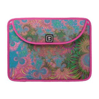 Abstrakte Kunst-Korallen MacBook Pro Sleeve