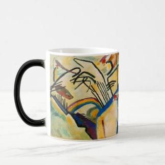 Abstrakte Kunst-verwandelnde Tasse