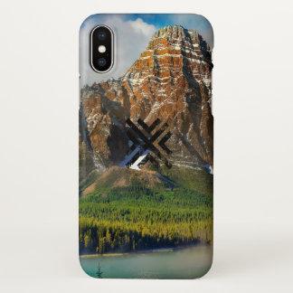 Abstrakte Landschaft iPhone X Hülle