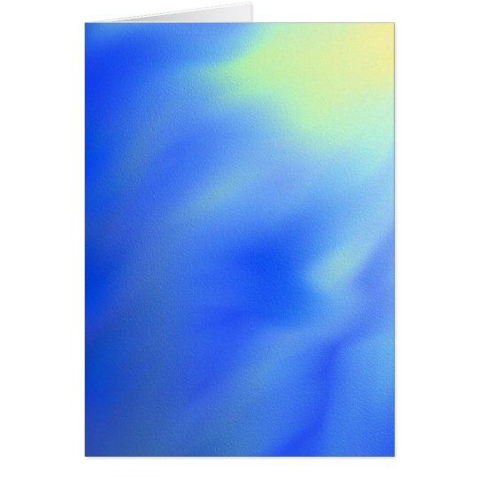 Abstrakte leere Grußkarte der Sonne und des