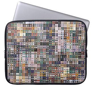Abstrakte Mosaik-Laptop-Hülse Laptop Sleeve