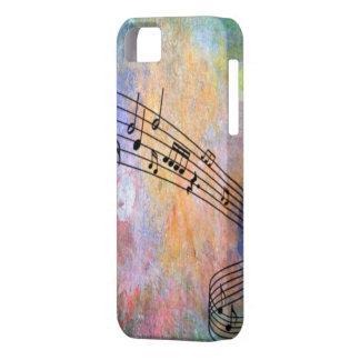 abstrakte Musik iPhone 5 Etui