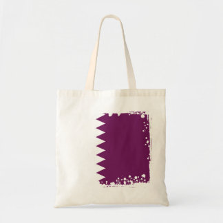 Abstrakte Qatar-Flagge, Qatari färbt Tasche