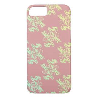 Abstrakte rosa Moddamastbeschaffenheit iPhone 8/7 Hülle
