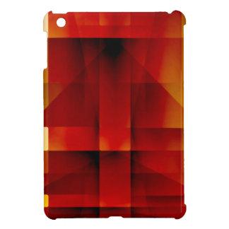 Abstrakte rote Pfeile iPad Mini Hülle