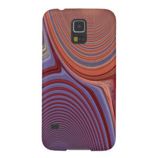 Abstrakte Schaffung (Lachse u. Blau) Galaxy S5 Hülle