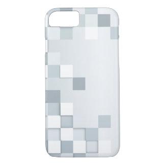 Abstrakte Schatten der grauen Quadrate iPhone 8/7 Hülle