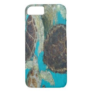 Abstrakte Schildkröten iPhone 8/7 Hülle