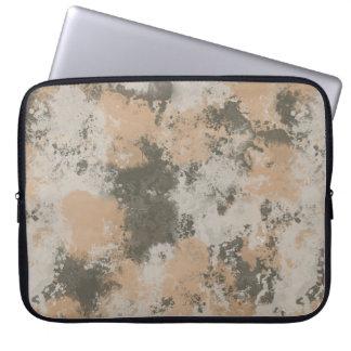 Abstrakte Schlamm-Pfütze Laptopschutzhülle