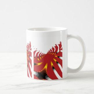 ABSTRAKTE SEEanemone Kaffeetasse