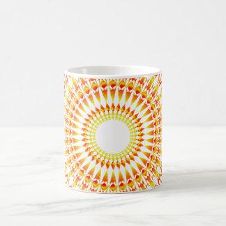 Abstrakte Sonnealternative schön Tasse