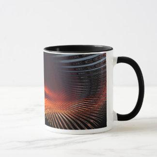 Abstrakte Sonnenuntergang 2 ~ Tasse