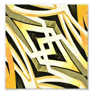 Abstrakte Stammes- Art-geometrisches Muster Kunstphoto