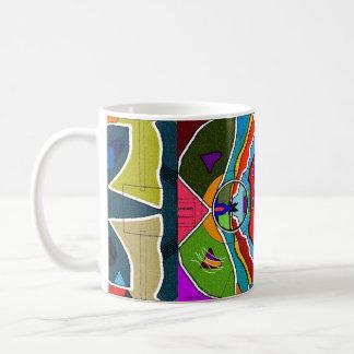Abstrakte tolle Spaß-Tasse Kaffeetasse