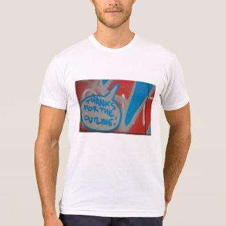Abstrakte trendy nahe hohe Kunst von Graffiti T-Shirt