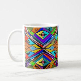 Abstrakte und tolle Tasse Kaffeetasse