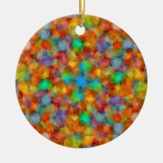 Abstrakte Wasserfarbe-Muster-Keramik-Verzierung Keramik Ornament