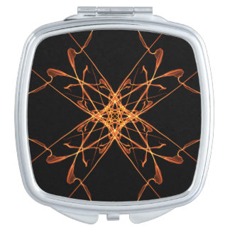 Abstrakter 24 kompakter Spiegel Taschenspiegel