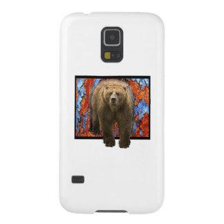 Abstrakter Bär Galaxy S5 Hüllen
