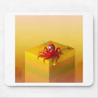 Abstrakter cooler KrakeGamer Mauspad
