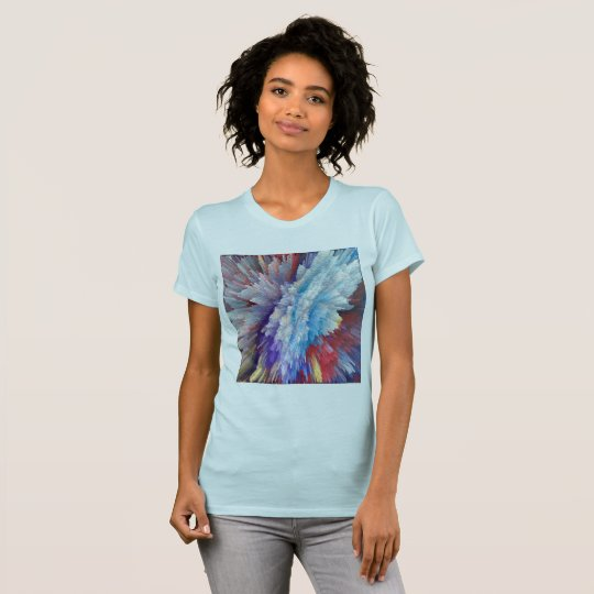 Abstrakter designe Frauen-T - Shirt
