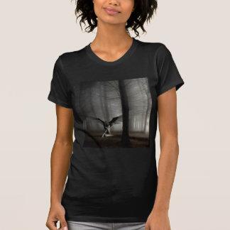 Abstrakter Engel gefallener Engel T-Shirt