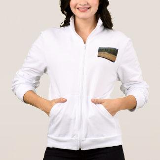 Abstrakter Entwurf auf einer Jacke