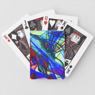 Abstrakter Entwurf Bicycle Spielkarten