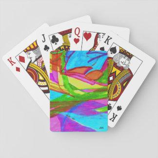 Abstrakter Entwurf Spielkarten