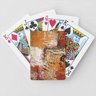 Abstrakter Expressionist Bicycle Spielkarten
