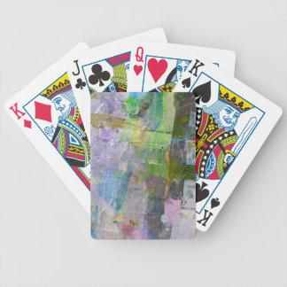 abstrakter Farbenhintergrund Bicycle Spielkarten