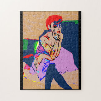 Abstrakter Frauen-Kunst-Deko