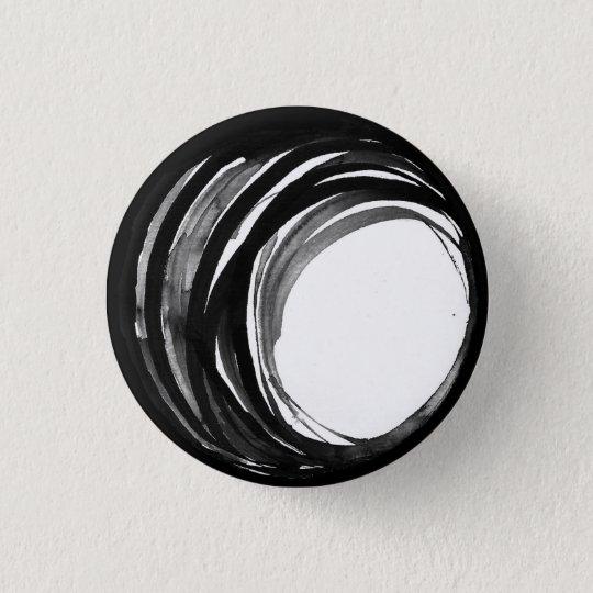 Abstrakter Gebets-Perlen-Knopf Runder Button 2,5 Cm