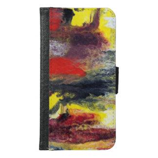 Abstrakter Geldbörsen-Kasten Samsungs-Galaxie-S6 Samsung Galaxy S6 Geldbeutel Hülle