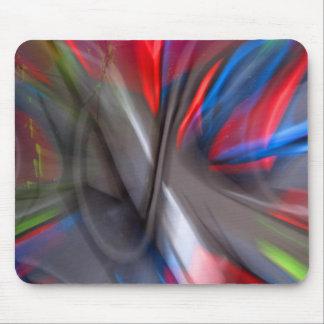 Abstrakter Graffiti Mousepad