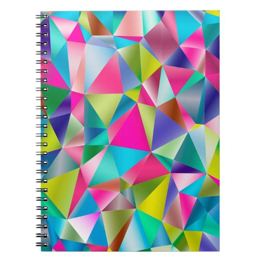 Abstrakter Hintergrund lila und bunt Notizblock