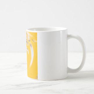 Abstrakter Kristall reflektieren Toast Kaffeetasse